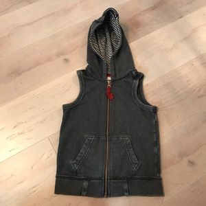 OshKosh Toddler Boys Gray Zip Up Vest - Size 2T